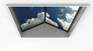 LED sky ceiling panels